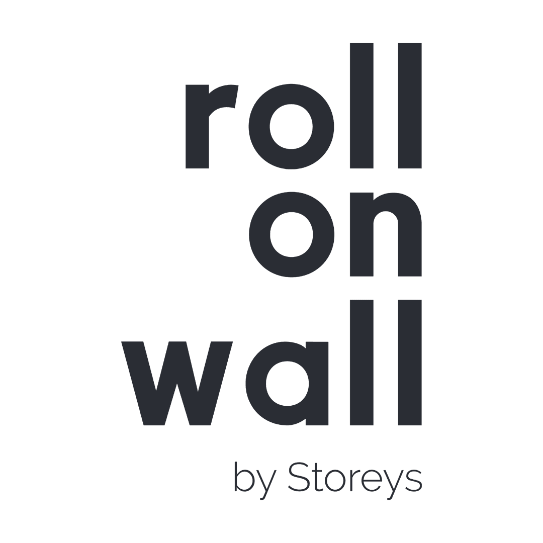 Roll-on-wall logo by Storeys