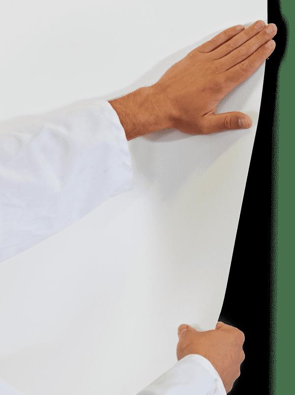 Slik monterer du Roll-On-Wall